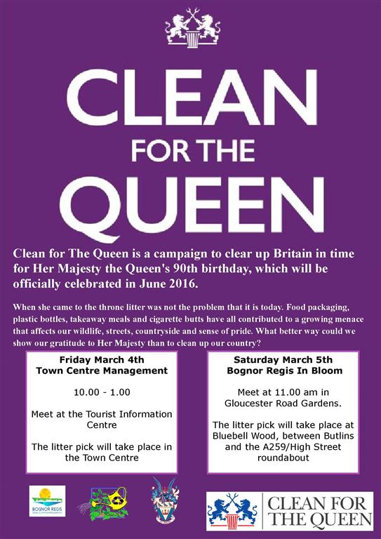 Clean for the queen poster