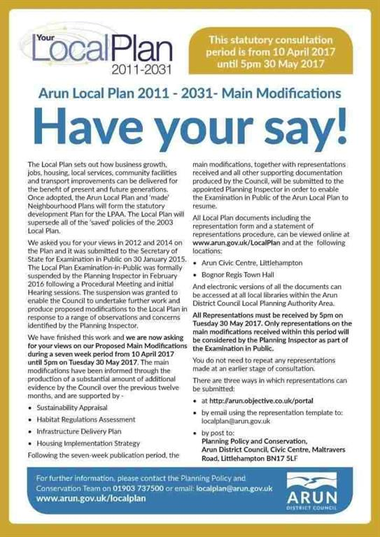Local Plan, Have your Say