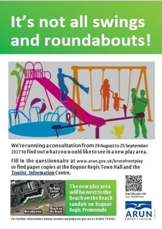 Play are consultation poster