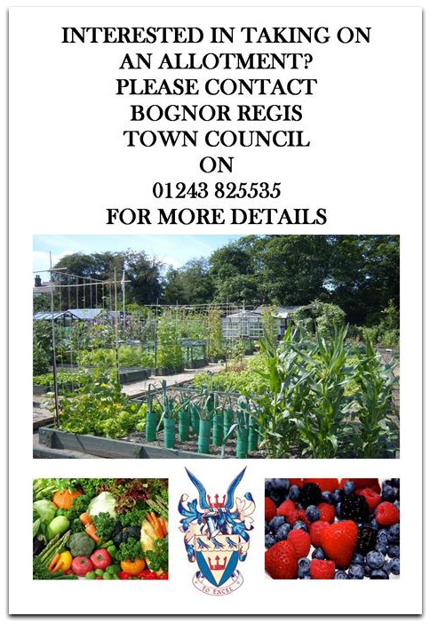 Allotment rental poster