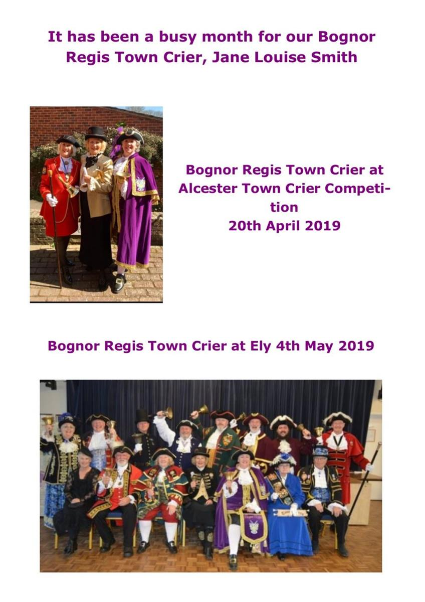 Town Crier in May